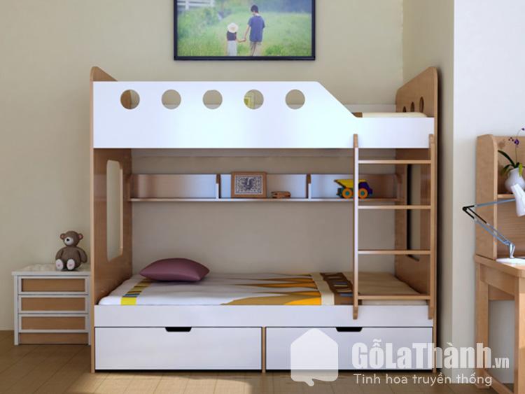 Giường ngủ thông minh cho bé tiết kiệm diện tích