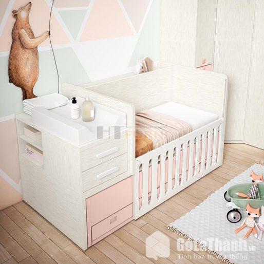 Giường ngủ thông minh cho bé thiết kế đơn giản