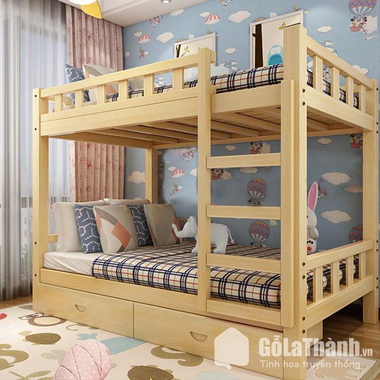 Giường ngủ thông minh cho bé có hộc kéo