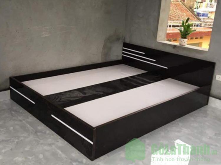 giường nhựa 1m8 màu đen