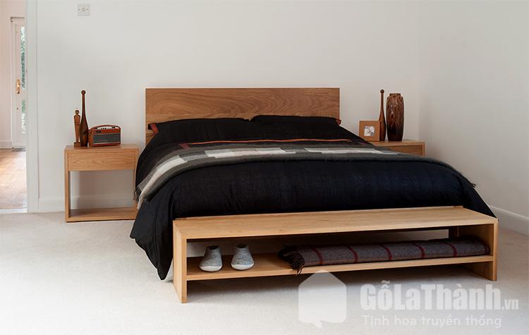 thiết kế có ngăn kéo đuôi giường
