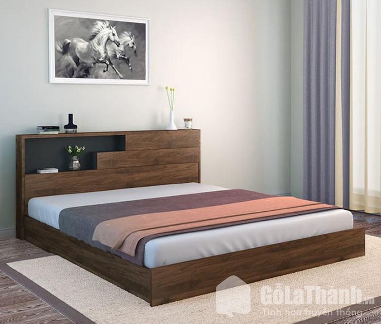 giường ngủ cỡ queen bằng gỗ tự nhiên