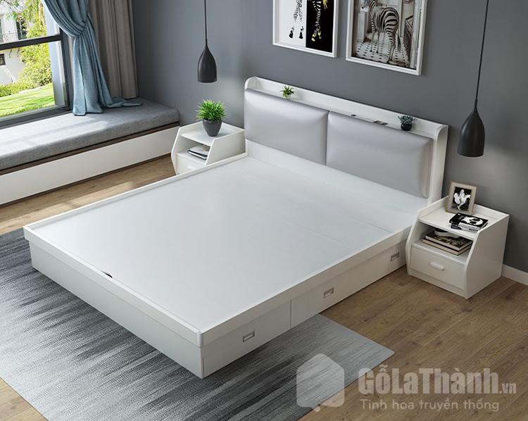 giường nhựa queen size