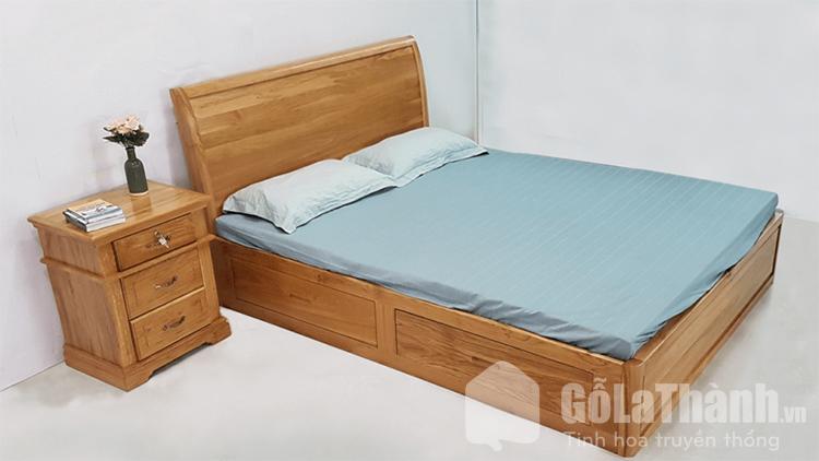 giường queen size gỗ tự nhiên