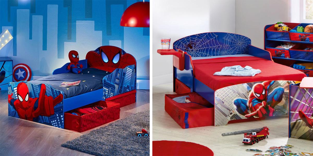 giường siêu nhân cho bé trai