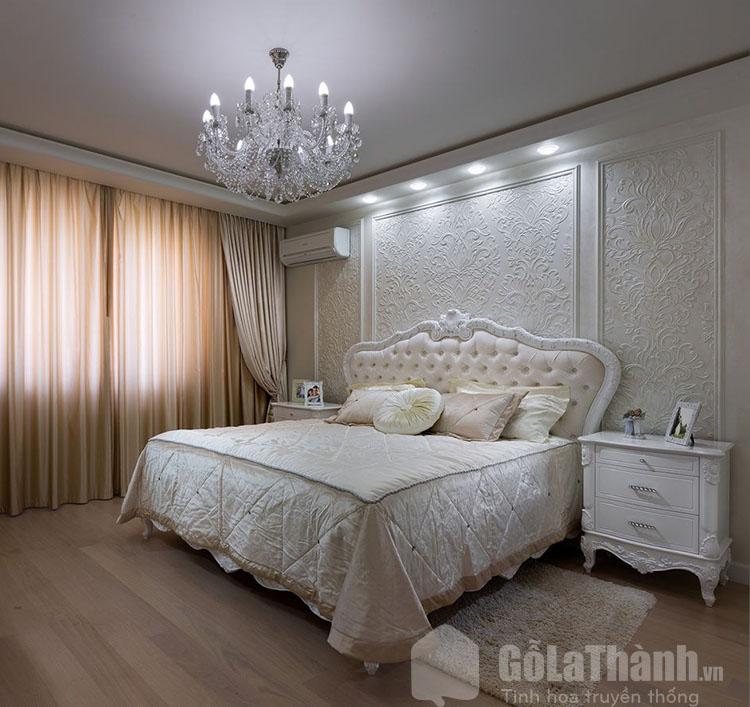 giường tân cổ điển đẹp