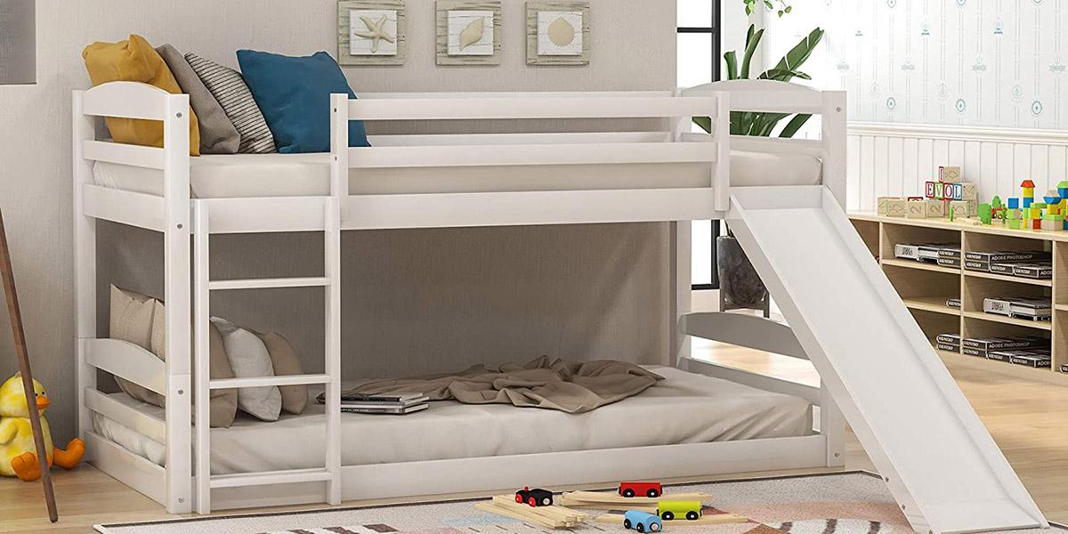 Mách bạn kinh nghiệm mua giường tầng cầu trượt đẹp cho bé