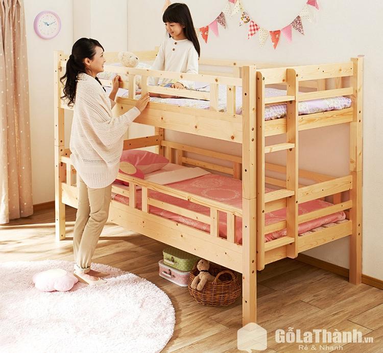 Giường tầng cho bé đẹp, chất lượng