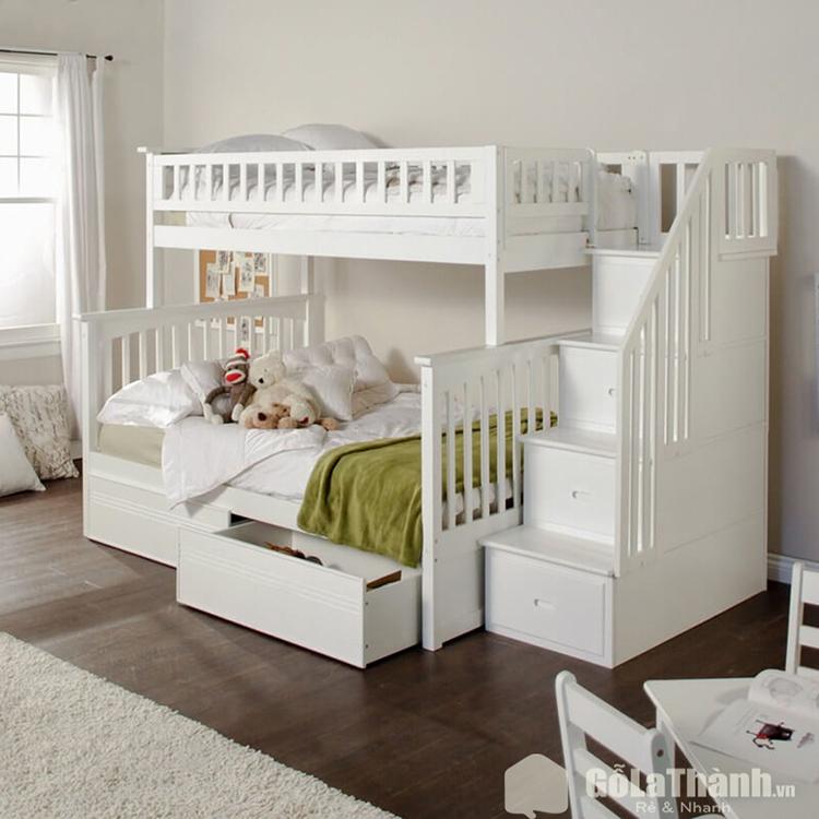 Giường ngủ 2 tầng gỗ công nghiệp