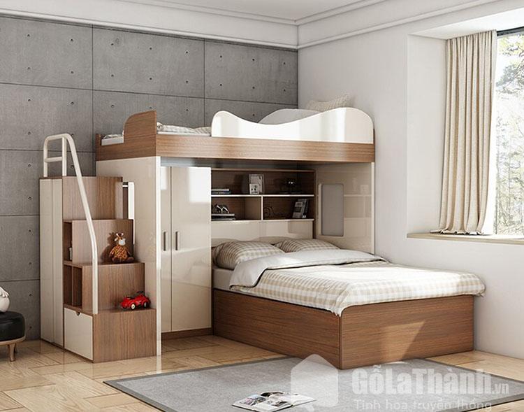 giường thông minh 2 tầng