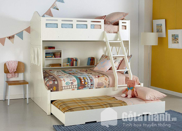 Giường kép thông minh cho trẻ
