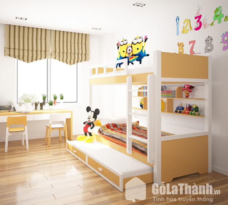 Giường trẻ em thông minh sở hữu nhiều màu sắc ấn tượng