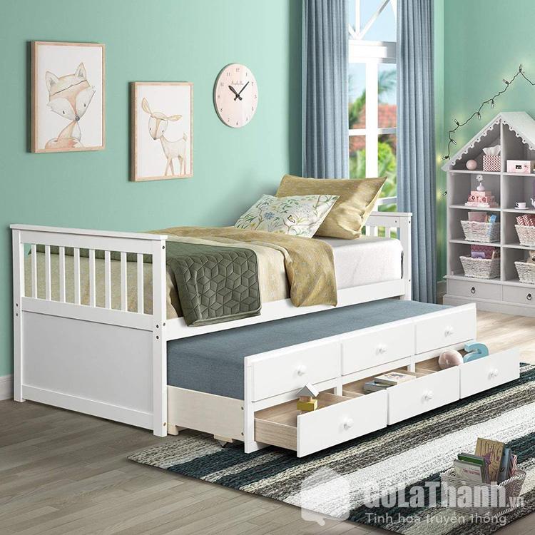 Giường gỗ trẻ em thông minh