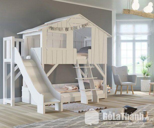 Giường trẻ em mô hình ngôi nhà