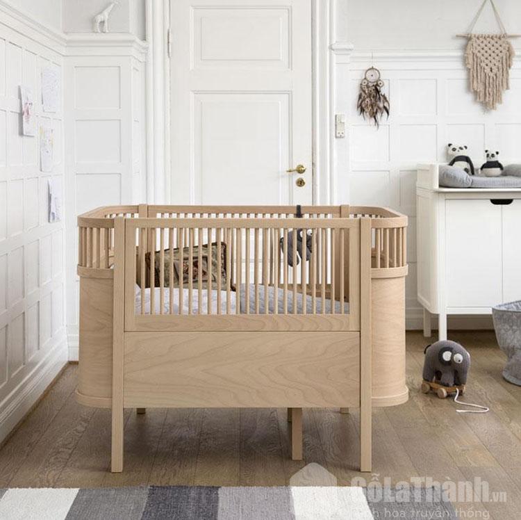 giường đơn gỗ