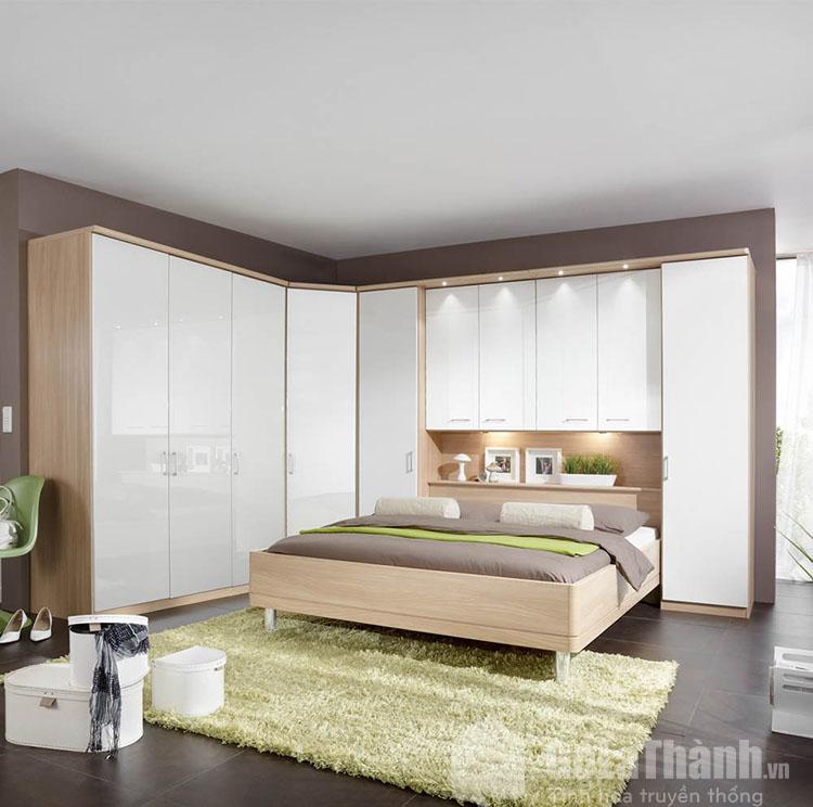 tủ giường gỗ