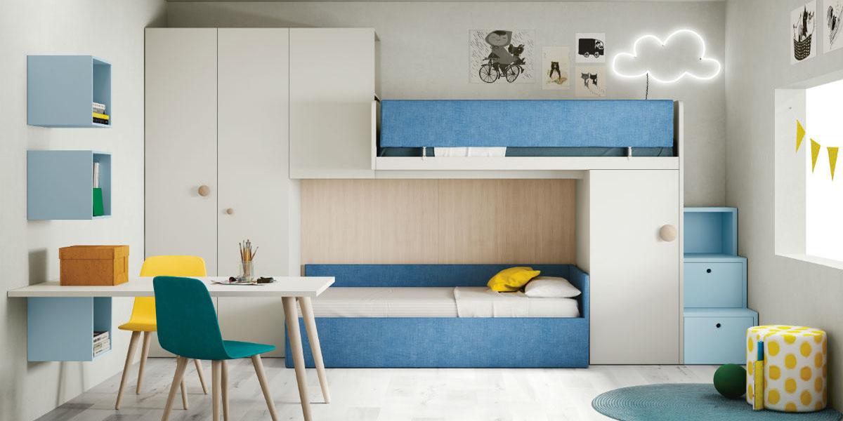 Những mẫu giường 2 tầng thông minh cho không gian sống hiện đại
