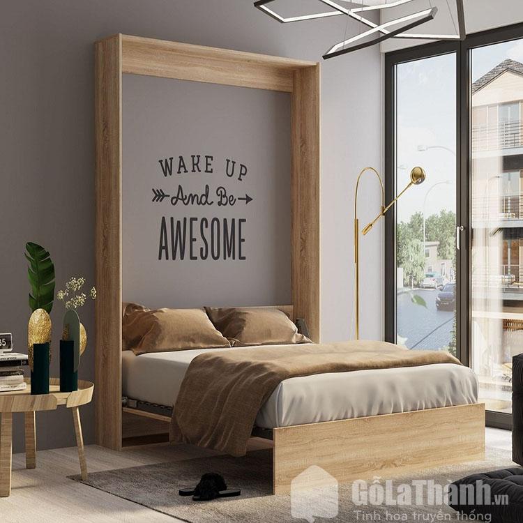 giường gấp gỗ sồi