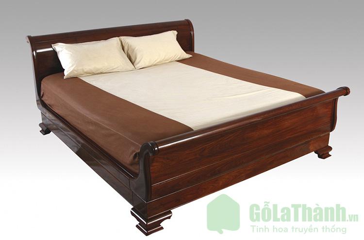 giường gỗ căm xe