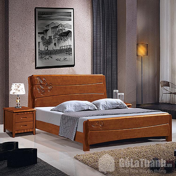 giường ngủ từ gỗ căm xe