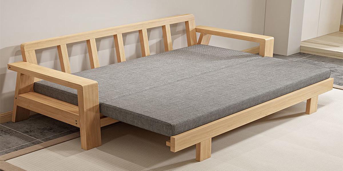 Giường gỗ gấp đôi đa năng như thế nào? Lý do nên sở hữu?