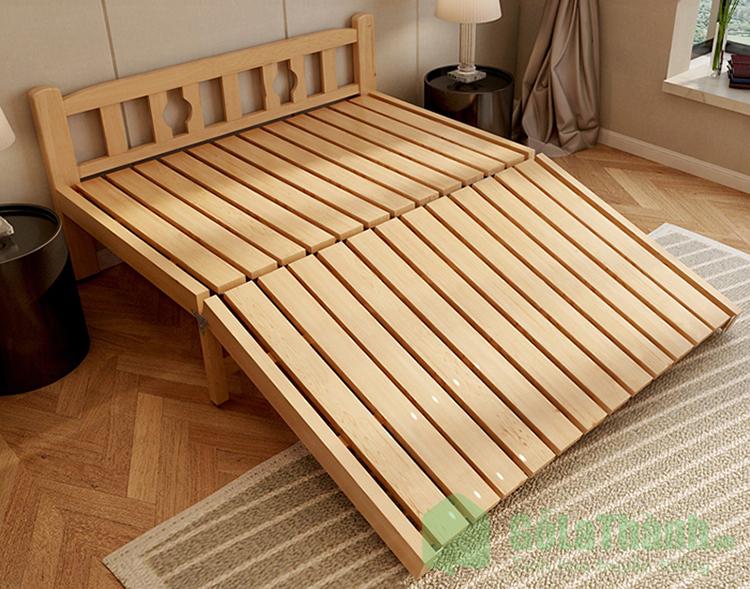 giường gỗ gấp gọn