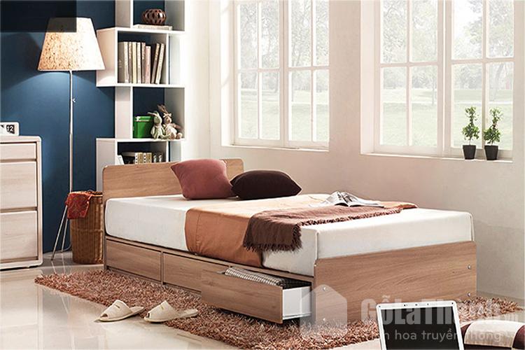 giường ngủ hộp đơn