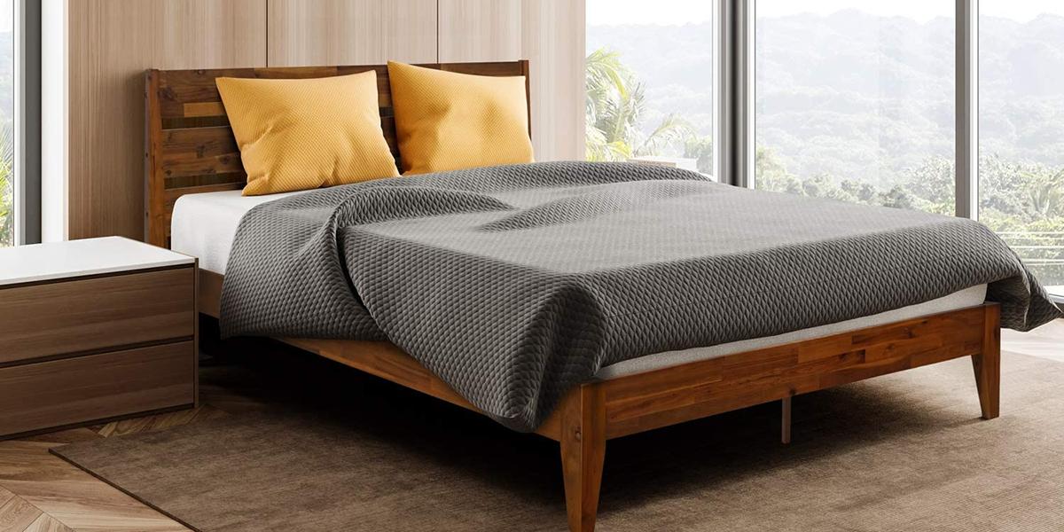Giường gỗ keo – lựa chọn tiết kiệm mà chất lượng
