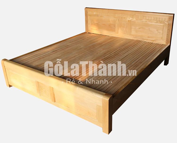 giường gỗ keo