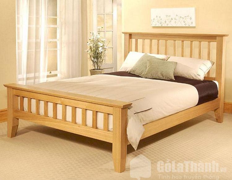 giường gỗ pơ mu