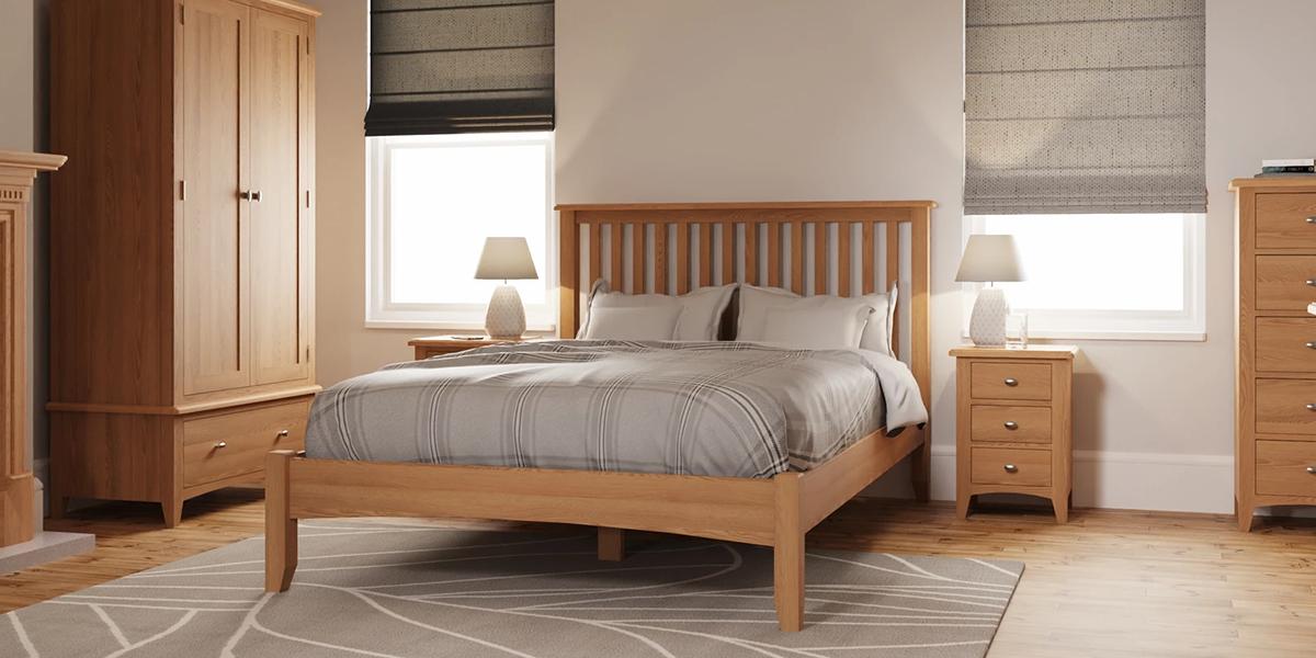 Bỏ túi 5 mẫu giường gỗ sồi 1m6 được yêu thích nhất hiện nay