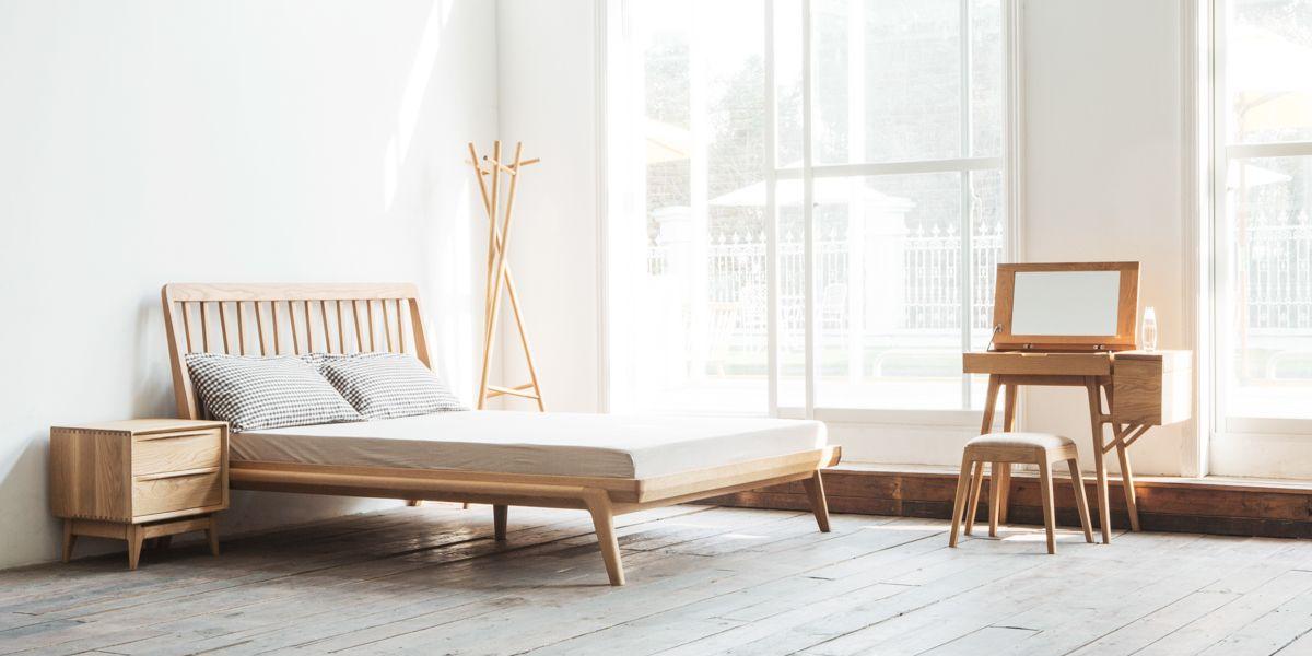 Mê mẩn trước những mẫu giường gỗ sồi hiện đại ấn tượng
