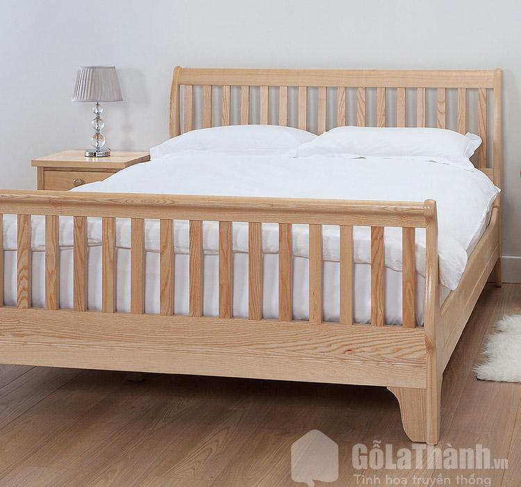 giường gỗ tần bì