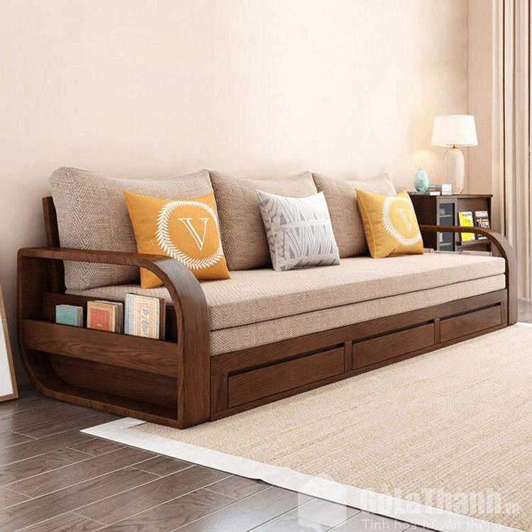 giường gỗ tràm