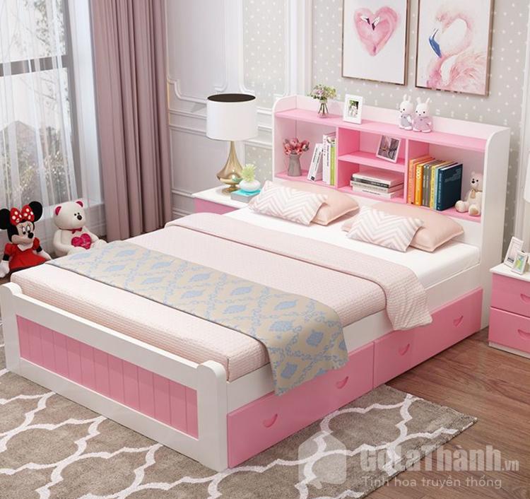 giường hộp đơn bằng nhựa cho bé