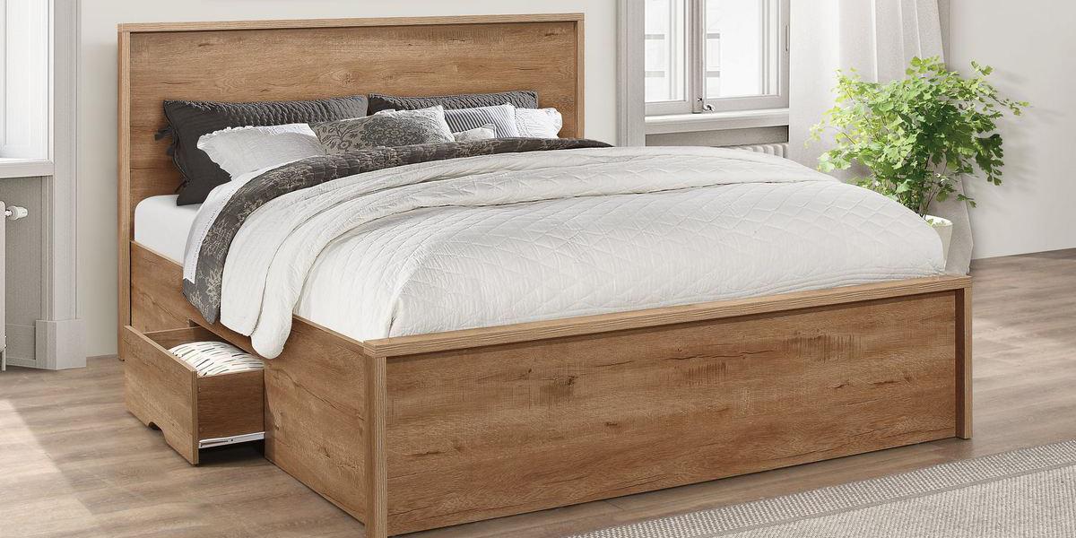 Giường hộp gỗ tự nhiên có thực sự bền đẹp hay không?