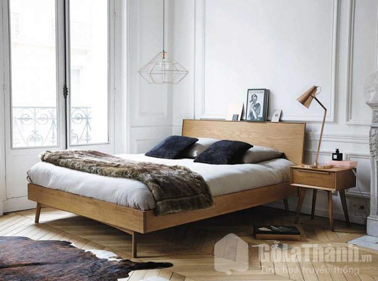 giường ngủ kiểu Hàn Quốc