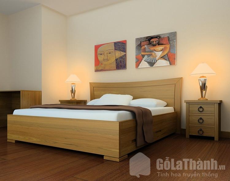 giường ngủ dạng khối hộp