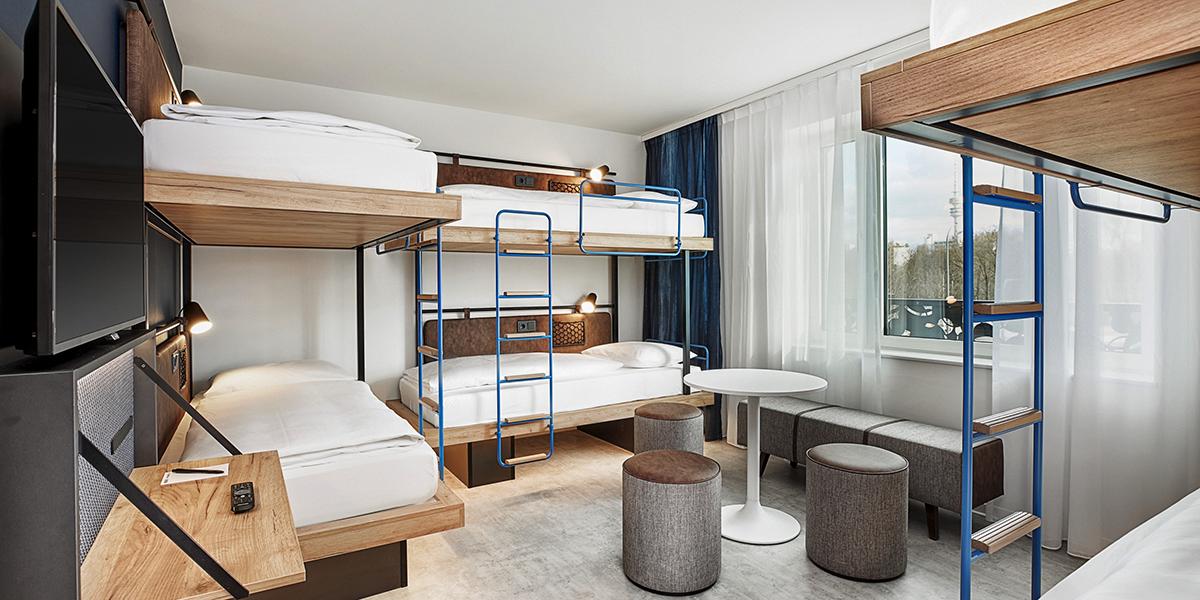 Nên chọn chất liệu gì cho các thiết kế giường tầng homestay?