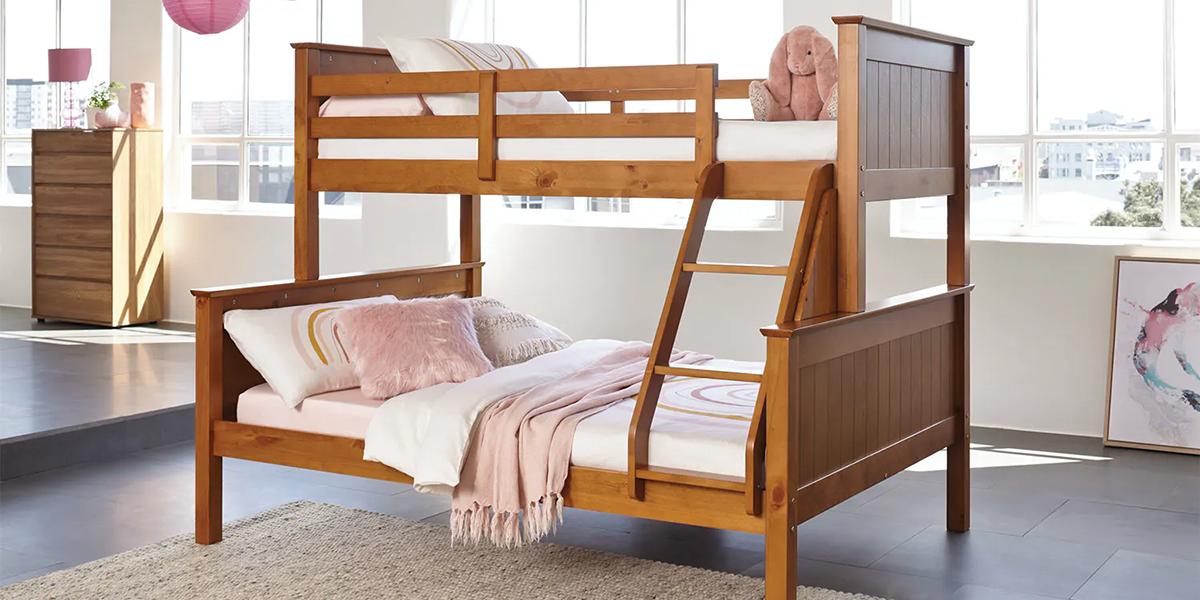 """3 thiết kế giường tầng rộng 1m6 đẹp """"cháy hàng"""" nhất"""