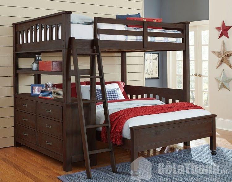 giường tầng rộng 1m6