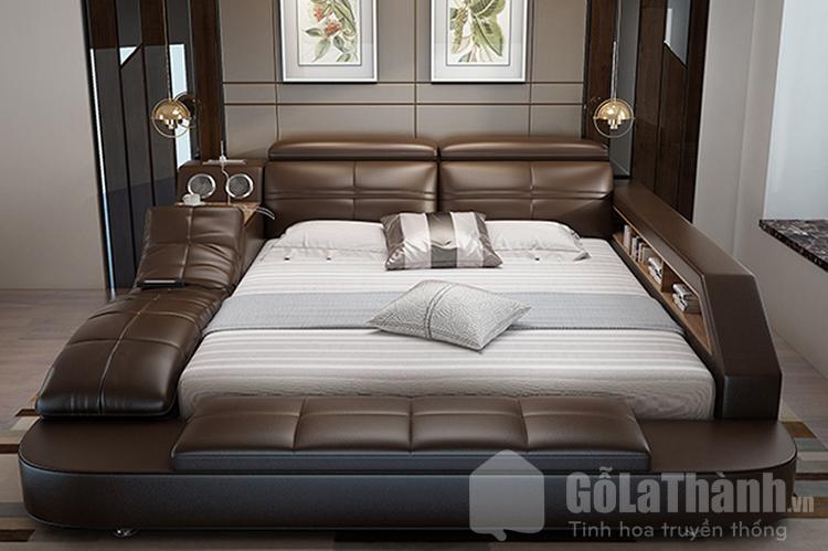 giường tatami bọc da