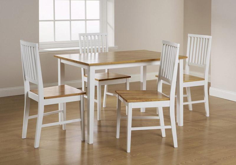 bàn ăn gỗ công nghiệp