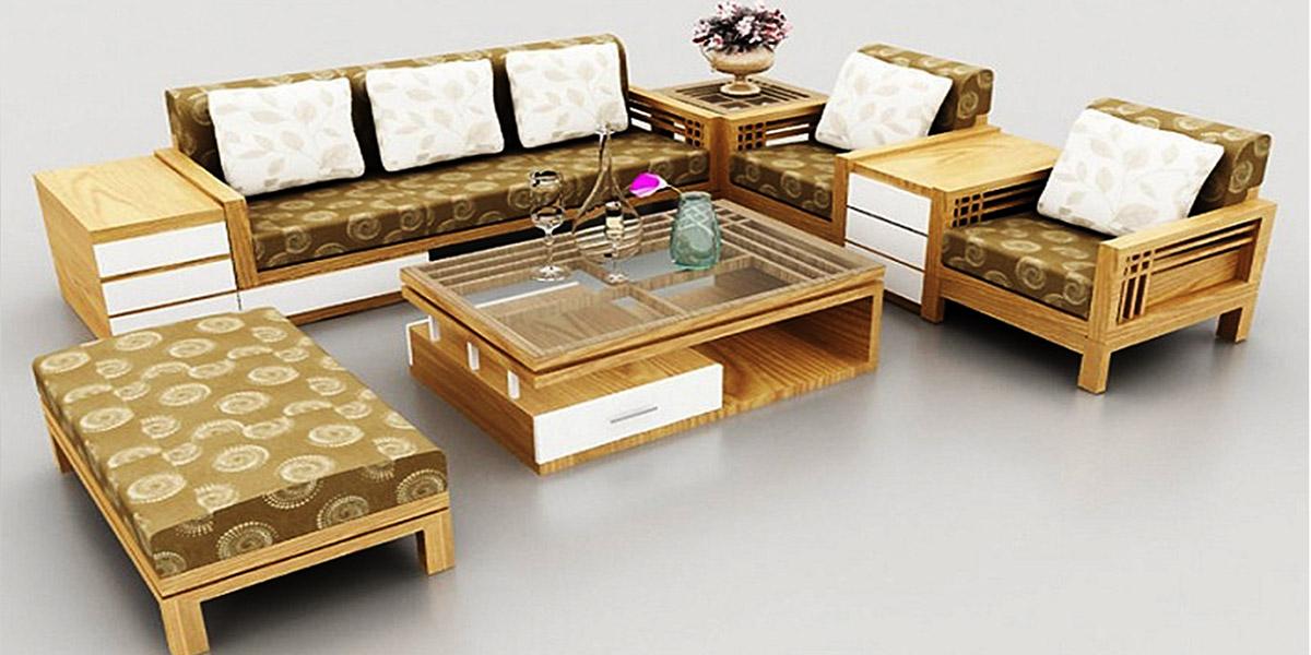 bàn ghế sofa gỗ rẻ đẹp