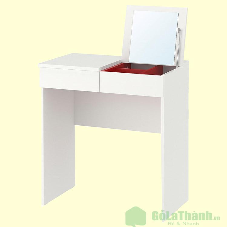 bàn trang điểm màu trắng giá rẻ