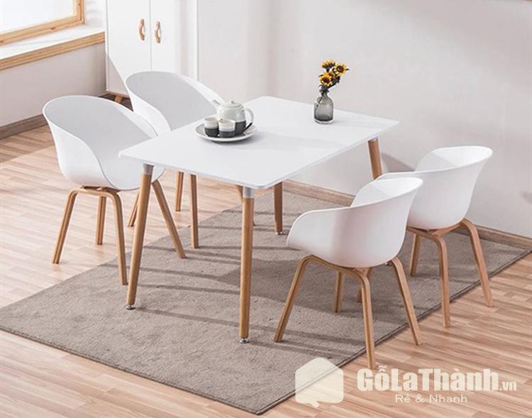 bàn màu trắng thiết kế hiện đại