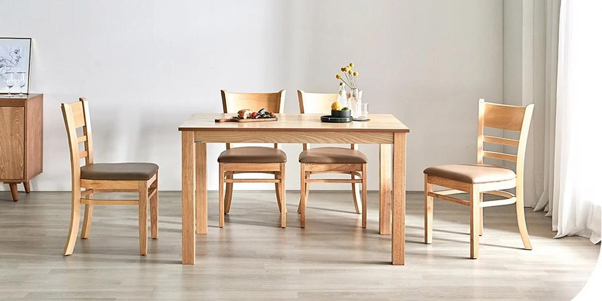 Bộ bàn ăn 4 ghế giá rẻ cùng cách thiết kế phòng ăn đẹp và ấn tượng