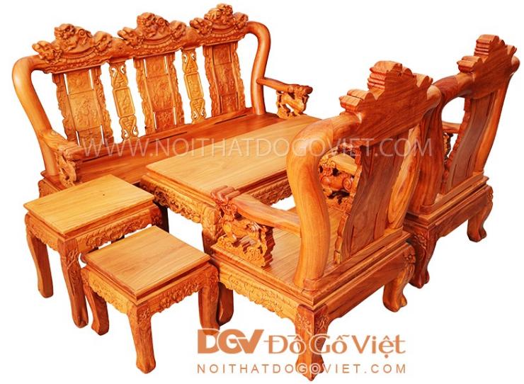 Cách chọn mua salon gỗ phòng khách