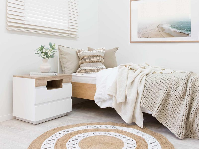 Chọn tủ táp đầu giường tiêu chuẩn cho phòng ngủ