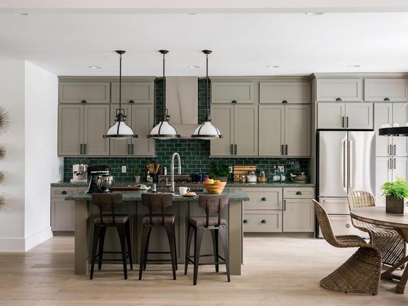 Công thức lựa chọn mẫu tủ bếp phù hợp với không gian cùng Go Home